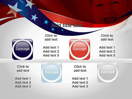 Red White and Pure PowerPoint Template Slide 18