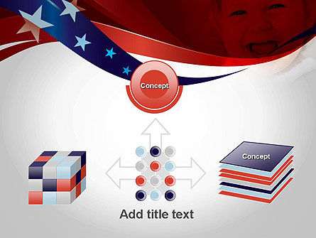 Red White and Pure PowerPoint Template Slide 19