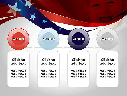 Red White and Pure PowerPoint Template Slide 5