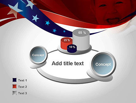 Red White and Pure PowerPoint Template Slide 6