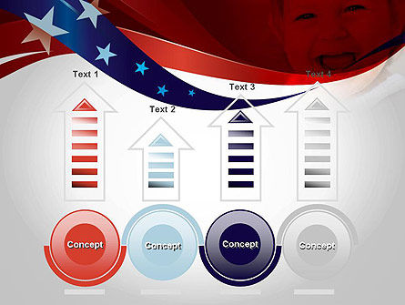 Red White and Pure PowerPoint Template Slide 7