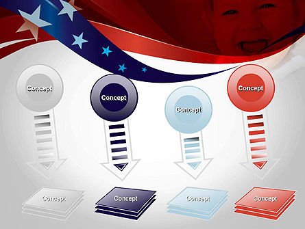 Red White and Pure PowerPoint Template Slide 8
