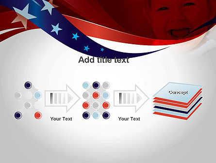 Red White and Pure PowerPoint Template Slide 9