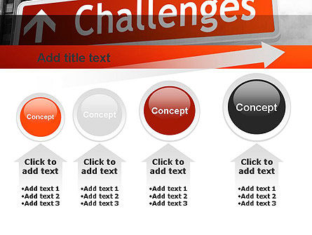 Challenges PowerPoint Template Slide 13