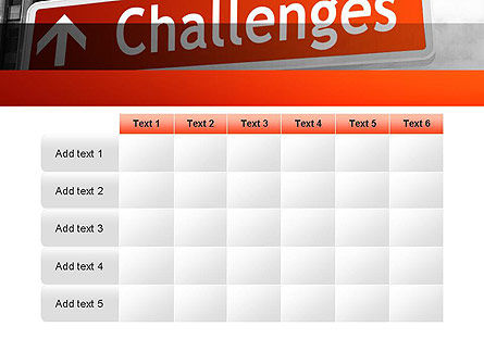 Challenges PowerPoint Template Slide 15