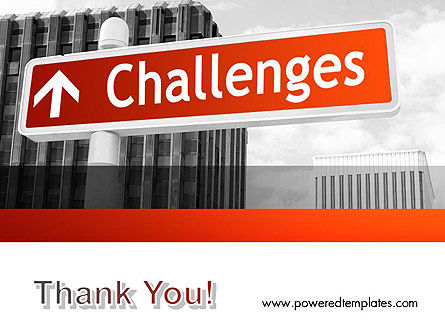 Challenges PowerPoint Template Slide 20