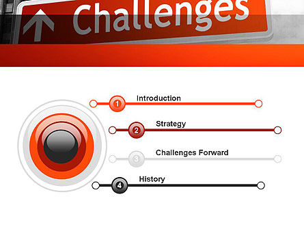 Challenges PowerPoint Template Slide 3