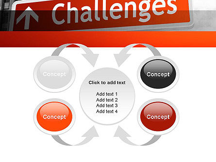 Challenges PowerPoint Template Slide 6