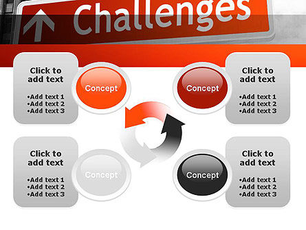 Challenges PowerPoint Template Slide 9