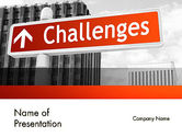 Business Concepts: Challenges PowerPoint Template #11833