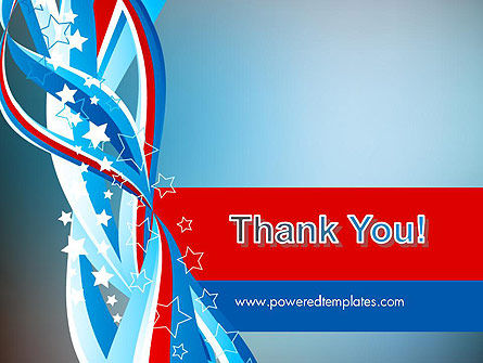 American Flag Theme PowerPoint Template Slide 20