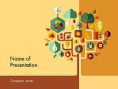 Nature & Environment: Sustainability PowerPoint Template #11837