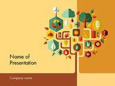 Nature & Environment: Templat PowerPoint Keberlanjutan #11837