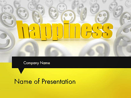 Happiness is a Choice PowerPoint Template, 11839, Education & Training — PoweredTemplate.com