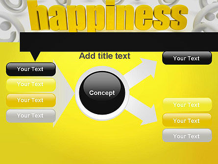 Happiness is a Choice PowerPoint Template Slide 15