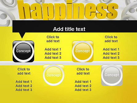 Happiness is a Choice PowerPoint Template Slide 18