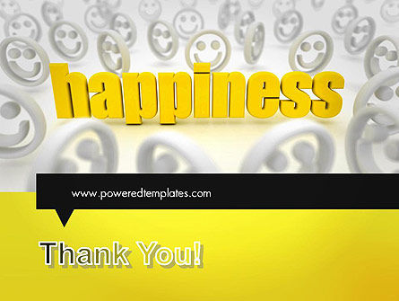 Happiness is a Choice PowerPoint Template Slide 20