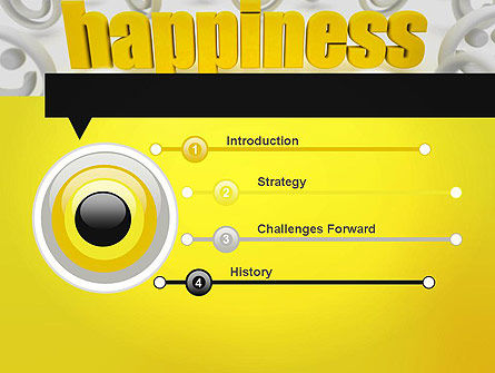 Happiness is a Choice PowerPoint Template, Slide 3, 11839, Education & Training — PoweredTemplate.com