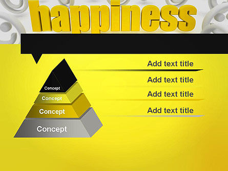 Happiness is a Choice PowerPoint Template, Slide 4, 11839, Education & Training — PoweredTemplate.com