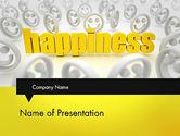 Education & Training: 快乐是一个选择PowerPoint模板 #11839