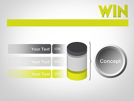 Word WIN PowerPoint Template Slide 11