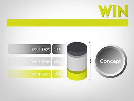 Word WIN PowerPoint Template Slide 11