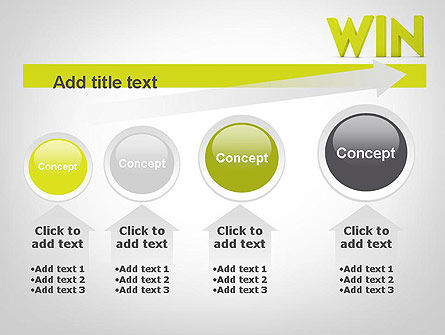Word WIN PowerPoint Template Slide 13