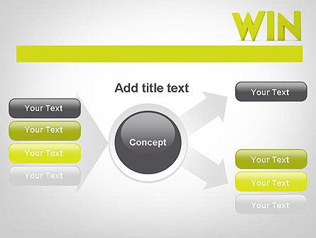Word WIN PowerPoint Template Slide 14