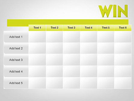 Word WIN PowerPoint Template Slide 15