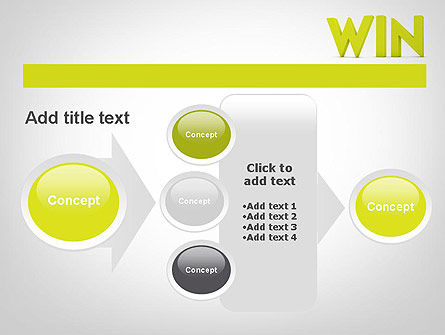 Word WIN PowerPoint Template Slide 17