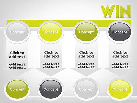 Word WIN PowerPoint Template Slide 18