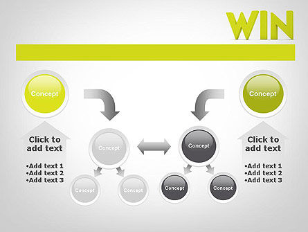 Word WIN PowerPoint Template Slide 19