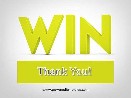 Word WIN PowerPoint Template Slide 20