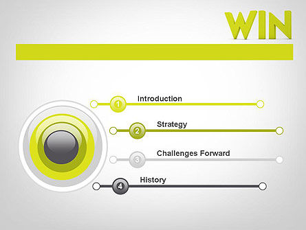 Word WIN PowerPoint Template Slide 3