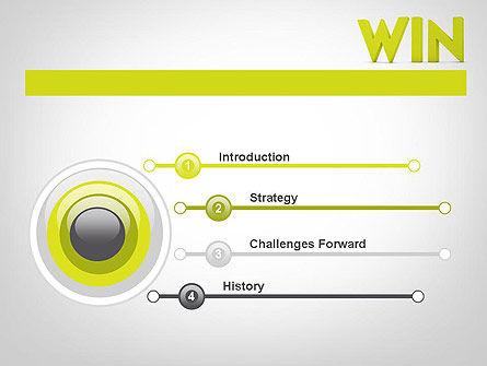 Word WIN PowerPoint Template, Slide 3, 11840, Business Concepts — PoweredTemplate.com