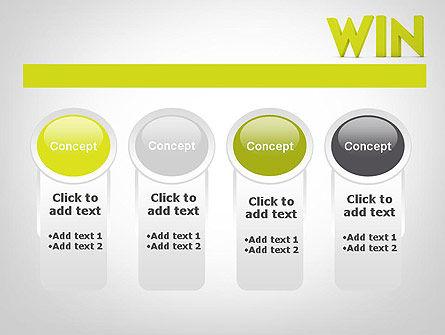 Word WIN PowerPoint Template Slide 5