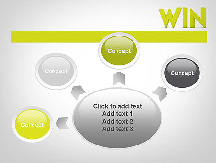 Word WIN PowerPoint Template Slide 7