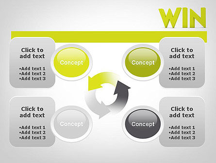 Word WIN PowerPoint Template Slide 9