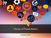 Careers/Industry: Templat PowerPoint Ikon Desain Datar #11844
