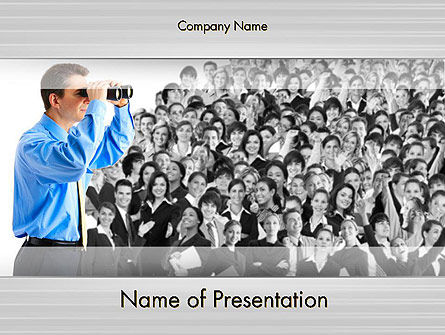 Careers/Industry: Work Opportunities PowerPoint Template #11845