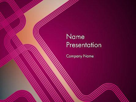Abstract/Textures: Modelo do PowerPoint - fantasia na cor da ameixa #11846
