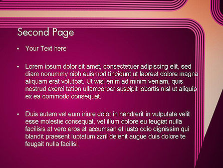 Fantasy in Plum Color PowerPoint Template Slide 2