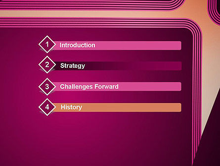 Fantasy in Plum Color PowerPoint Template Slide 3