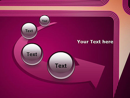 Fantasy in Plum Color PowerPoint Template Slide 6