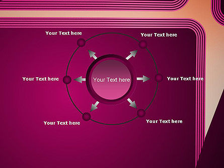 Fantasy in Plum Color PowerPoint Template Slide 7