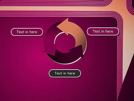 Fantasy in Plum Color PowerPoint Template Slide 9