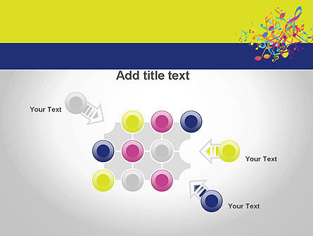 Colorful Tunes PowerPoint Template Slide 10