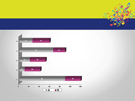 Colorful Tunes PowerPoint Template Slide 11