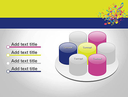 Colorful Tunes PowerPoint Template Slide 12