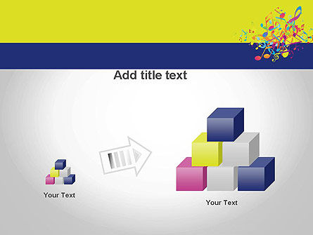 Colorful Tunes PowerPoint Template Slide 13